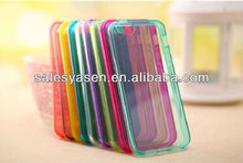 Transparent S line for iphone 5 s line tpu case