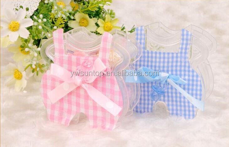Cute Little Clothes Plastic Favor Box Baby Shower Gift Box - Buy ...