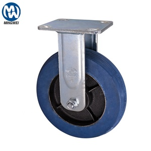 8 Inch Fixed Industrial Caster Wheels for Trolley