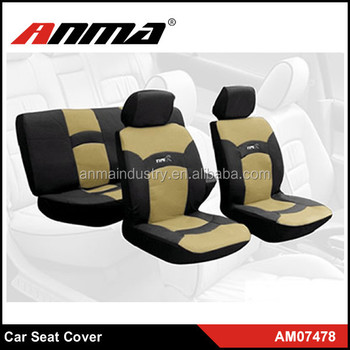 Universal Racing Style Full Set Of Car Seat Covers