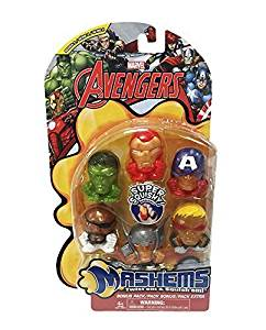 Marvel Avengers Civil War Mashems Series 1 Value Pack Toy Figure Set of 6