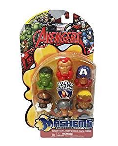 Marvel Avengers Civil War Mashems Series 1 Value Pack Toy Figure Set of 6