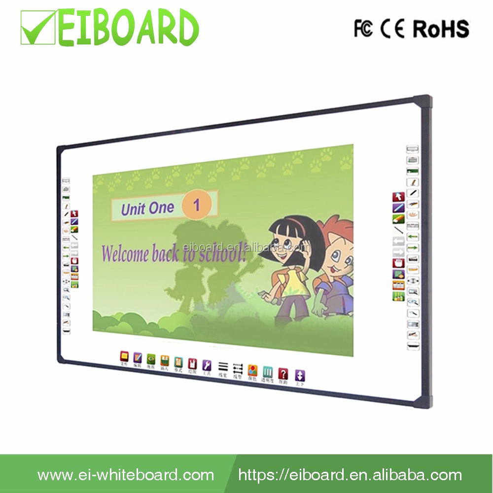 Classroom supplied smart teach board interactive touch screen interactivve whiteboard