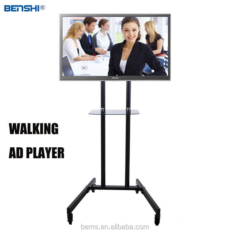Sheet Metal Bracket for video advertising tv hanging Monitor ad player advertising display/PC/screen with networkt