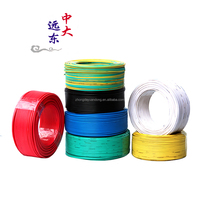 Copper Conductor Material and PVC Insulation Material 1.5mm2 2.5mm2 4mm2 6mm2 10mm2 16mm2 electric copper wire