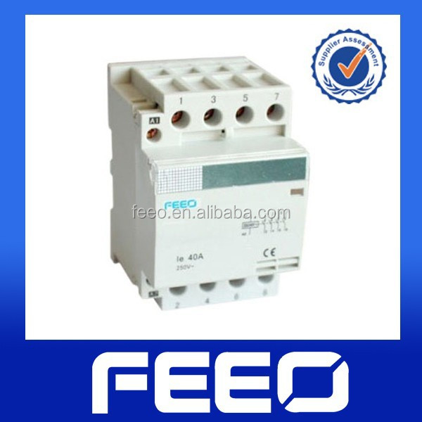 2P/4P types of contactor,electrical contactor,AC Contactor