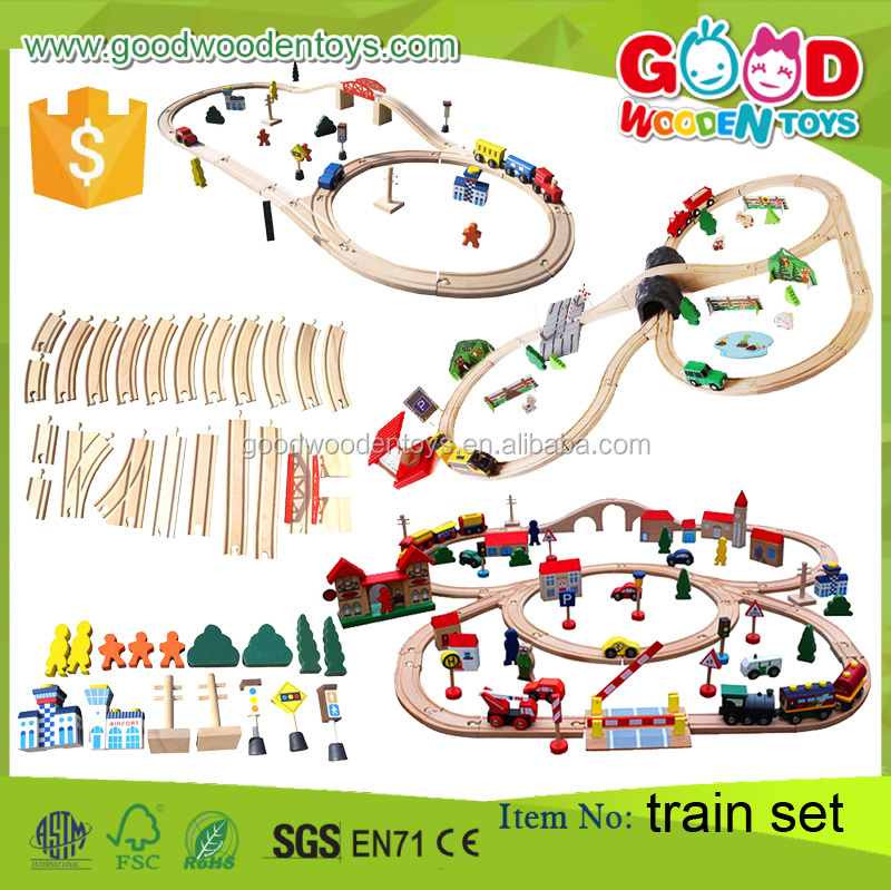 Top Sale Vehicle Toy Train OEM/ODM Kids Train Toy Wooden Magnetic Train