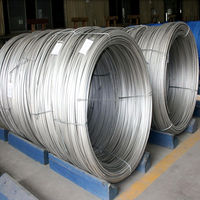 China supplier stainless steel coiled wire rod stainless steel spring wire
