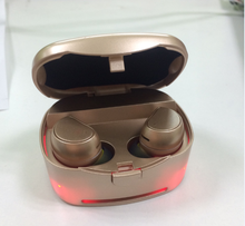 New design wireless stereo bluetooth headset,OEM bluetooth headset,bluetooth in-ear earphone with power bank box