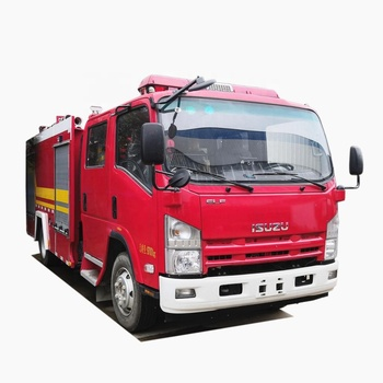 Japanese brand 5m3 6m3 fire engine foam fire fighting truck for sale