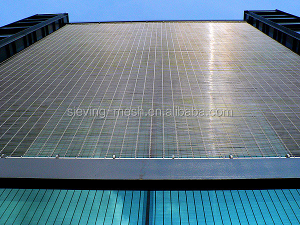 Metal Curtain Wall Design,Metal Rod Wire Cable Mesh Prices