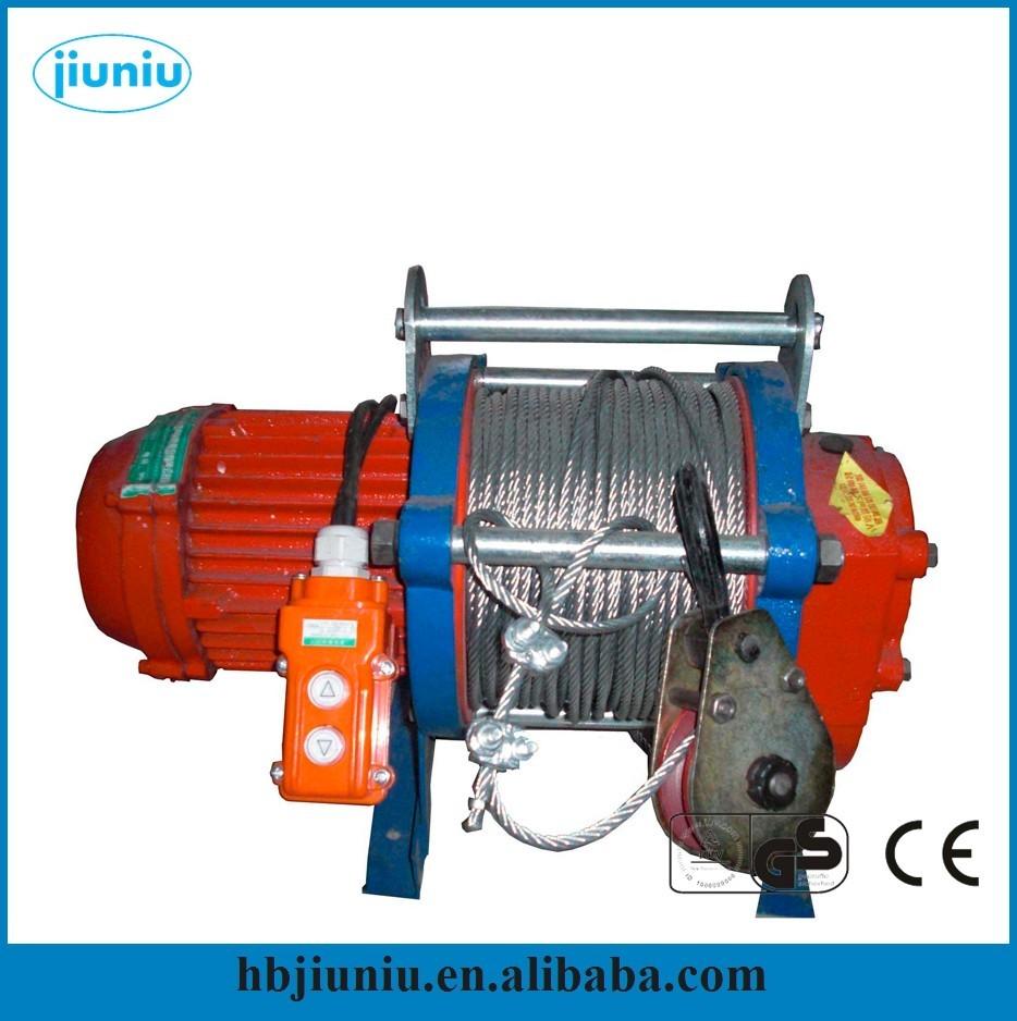 220v Motor 2ton Winch Motor Small Electric Winch 220v