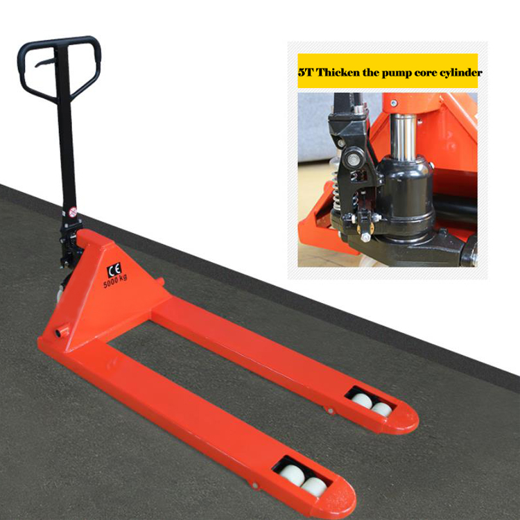 wide leg hydraulic fork hand lift stacker (0)