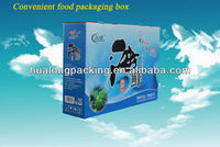Eco-friendly hottest popular seafood packing box