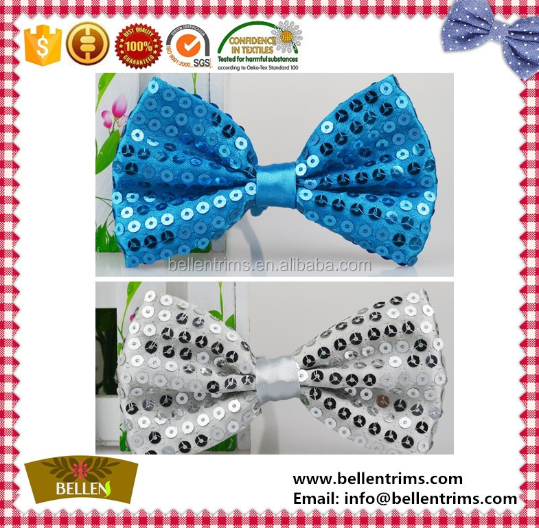 Sparkly Sequins Party Bow Ties Wholesale