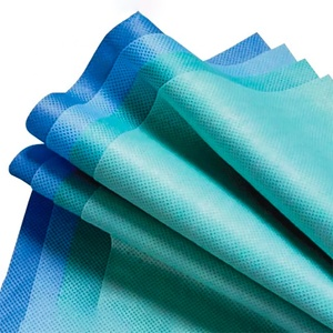 grade polyester waterproof breathable disposable 100% pp spunbond nonwoven sms medical fabric