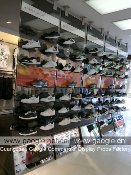 New Fashion Arcylic Gl Shoes Display Cabinet