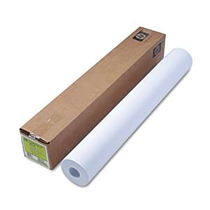 HP C6810A Bright White Inkjet Paper - Matte bond paper - bright white - Roll (36 in x 300 ft) - 90 g/m2 - 1 roll(s) - for DesignJet 40XX, 45XX, T1100, T1120, T1200, T1300, T2300, T610, T770, T790, Z3200, Z6200