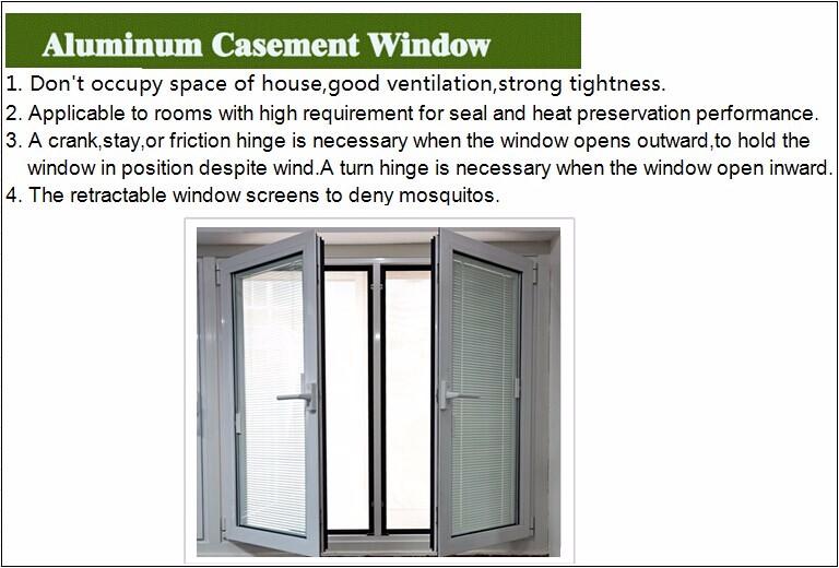 Modern architectural design aluminum casement windows for Aluminum window manufacturers