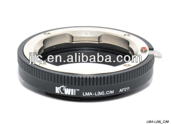 Kiwifotos Lens Mount Adapter for LEICA M Mount Lens For Canon EF-M Mount Adapter