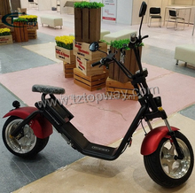 Range 60-80 km per charge voltage 60 v electric scooter citycoco