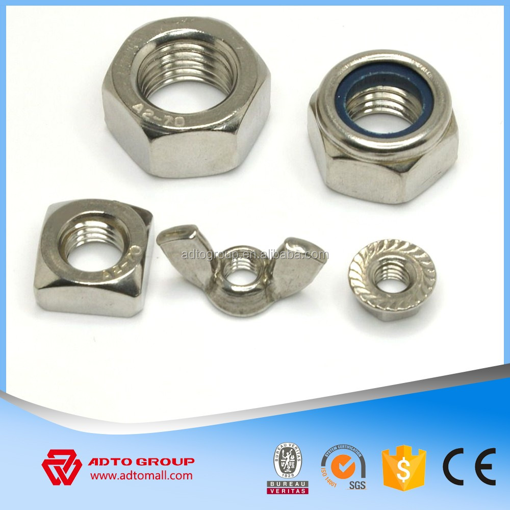 International Selling Price of Hex nuts and different nuts