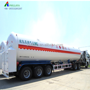 2018 tri-axles liquid gas transport tank container truck lng tanker semi trailer(LPG CNG CO2)