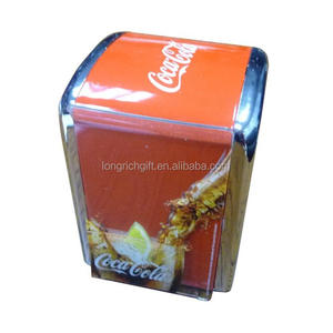 Cola Tin Napkin holder /Tissue box restaurant servilletero/dispenser