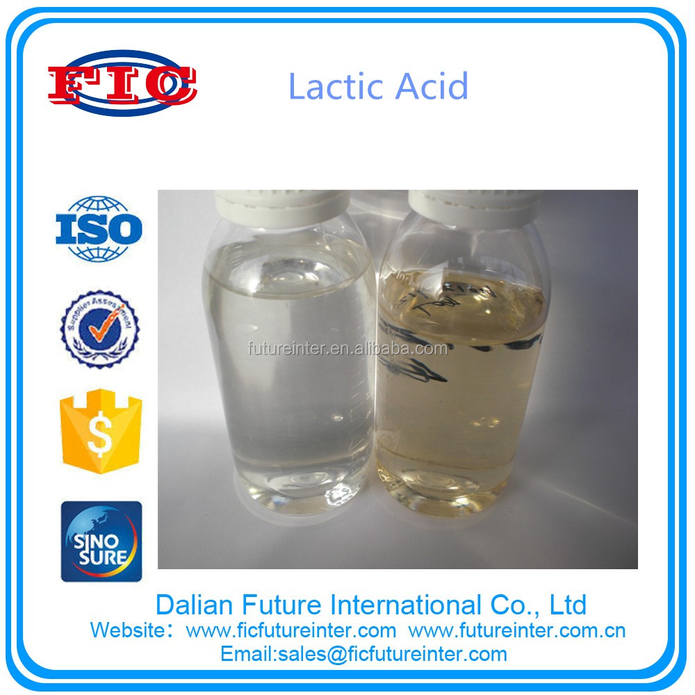 60%-88% Food Grade Lactic Acid,Excel Grade,Best Price