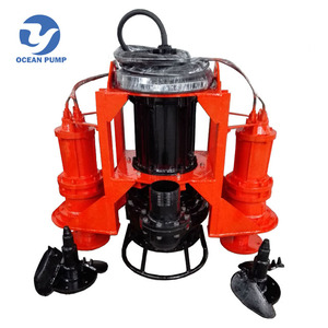 new type Submersible Dredging Sand Pump with extra agitators