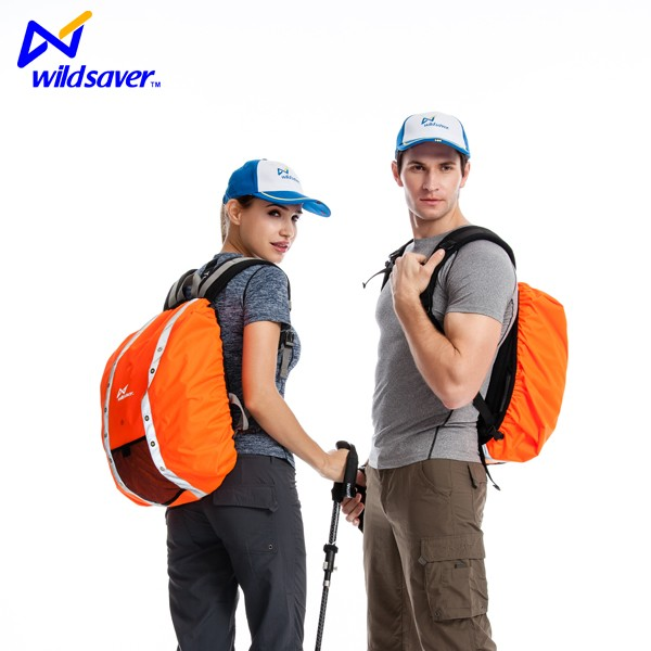 2019 Custom anti theft  foldable backpack cover travel  camping outdoor sports waterproof rain backpack cover