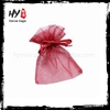 New design fancy organza wedding gift pouches with low price