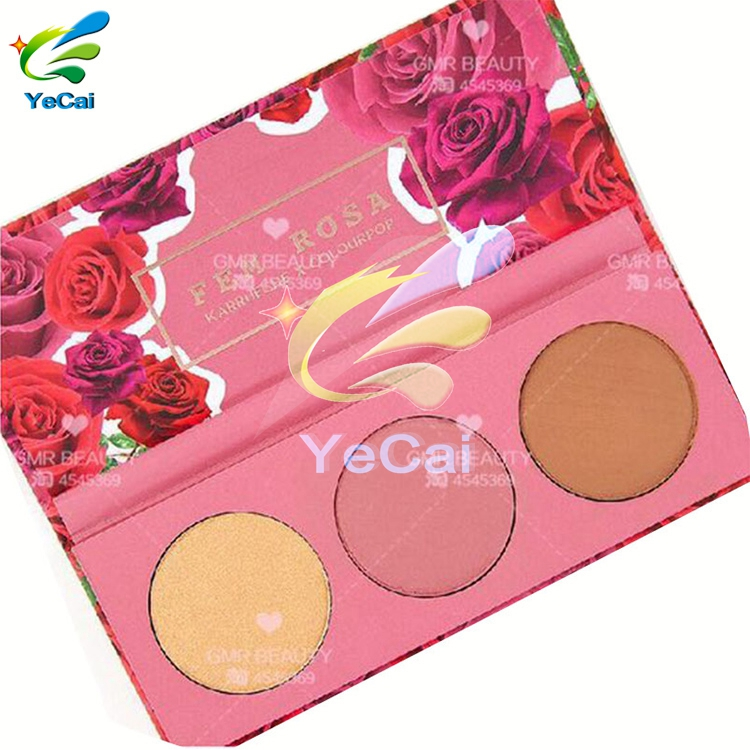 New Products paper eyeshadow palette box , custom style 12 color eyeshadow palette