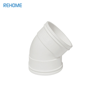 Plastic tube PVC pipe Fitting for water sewage DWV Pipe fittings