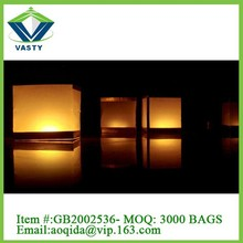 Party decoration wishing light square paper lantern/floor lamp