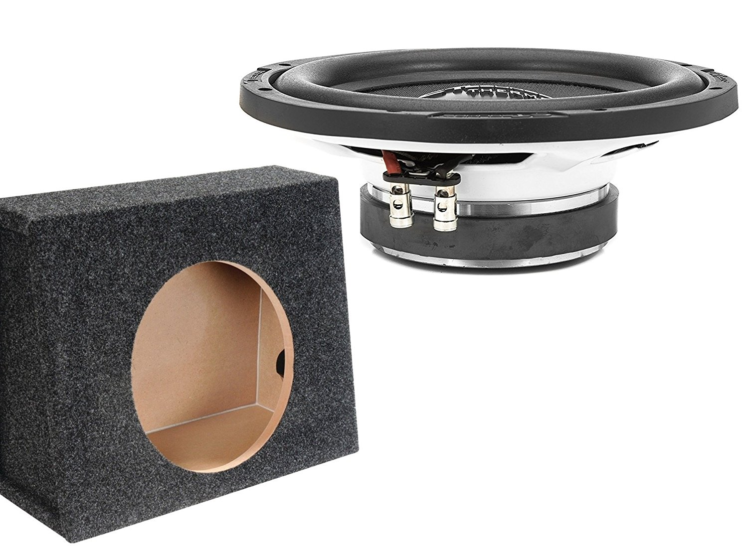12 Inch Truck Subwoofer Bass Package with Box by CT Sounds