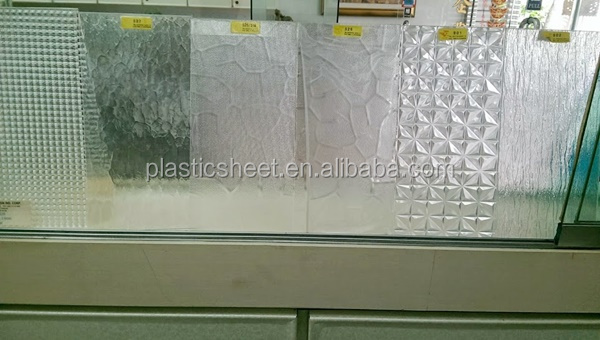 Home Decoration Patterned Polystyrene Plastic Sheet For