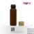 60ml amber glass bottle for essential oil massage oil with screw cap