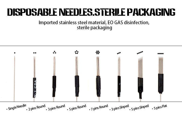Medical Standard Stainless Steel 3r Permanent Makeup Tattoo Machine Needle  - Buy Permanent Makeup Tattoo Machine Needle,Permanent Makeup Machine ...
