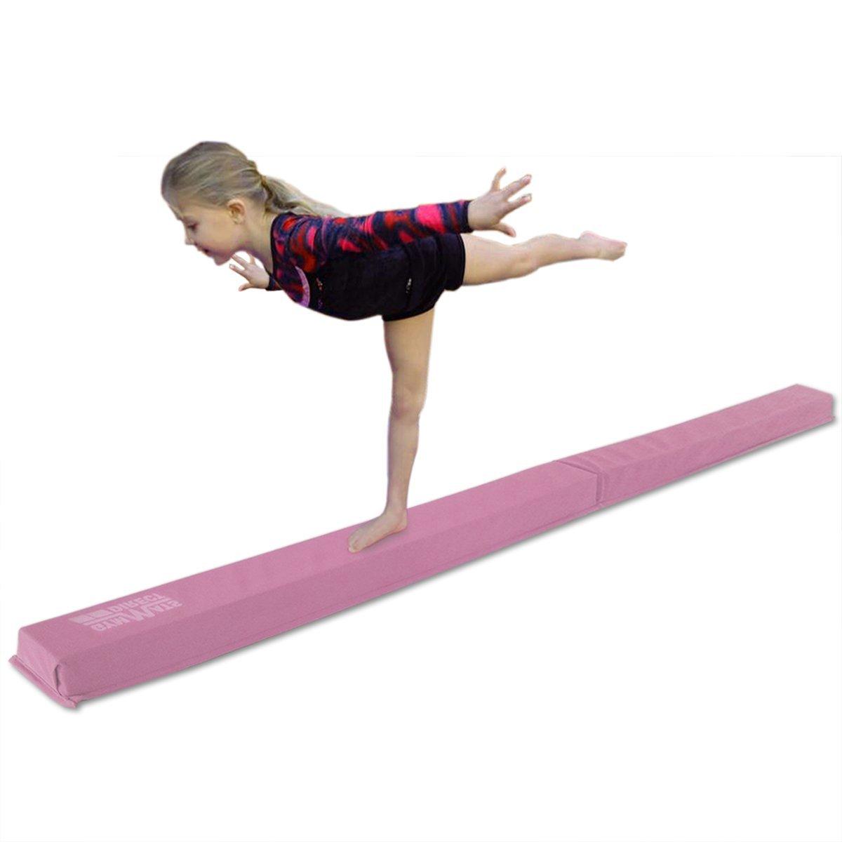 c1c10fb25e29 Get Quotations · gymmatsdirect Gymnastics Balance Beam, 8' or 9' Long  Folding Floor Balance Beams for
