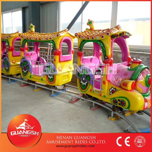 Fairy Trip!! Best selling cartoon train electric tourist trains for kids