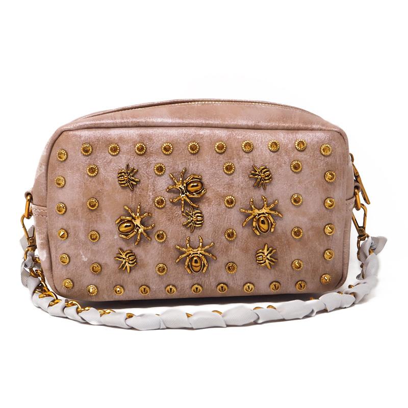 Herald Fashion, женские сумки с заклепками, женская сумка-мессенджер, качественная кожаная женская сумка на плечо с ремешком на цепочке, женская су...(Китай)