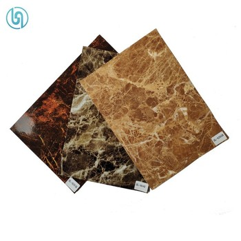PET Thermal Transfer UV Scratch Resistant Hot Stamping Foil For With Marble Design
