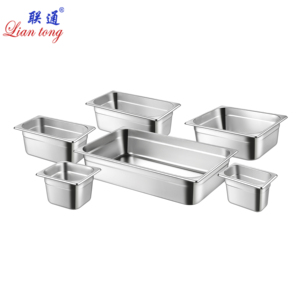 Full size Metal stainless steel hotel buffet gastronorm food pans containers European GN PAN