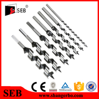 Hex Shank Augers Drill Bits For Wood