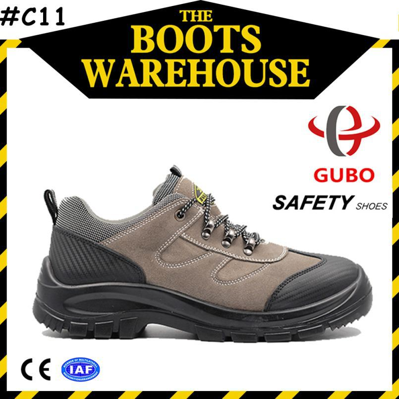 cow leather low cut safety shoes footwear exporters