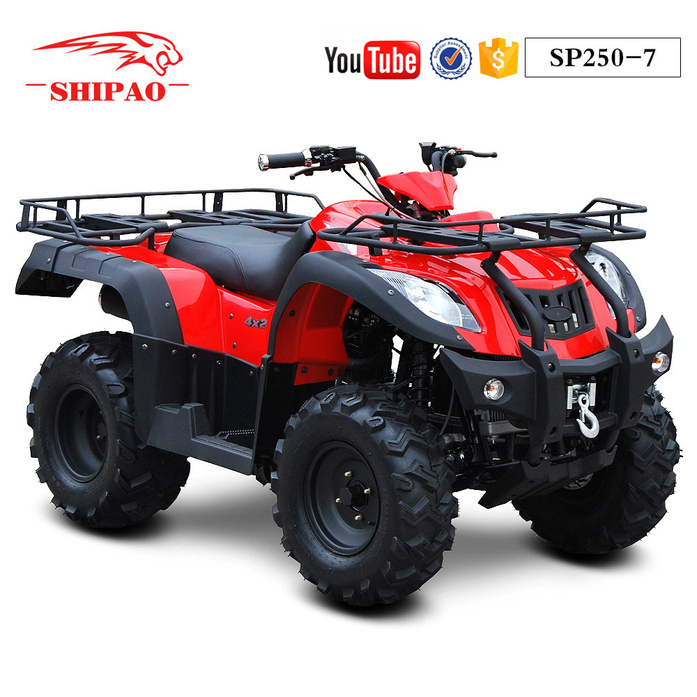 SP250-6L Shipao liquid cooled chain drive cheap racing atv for sale