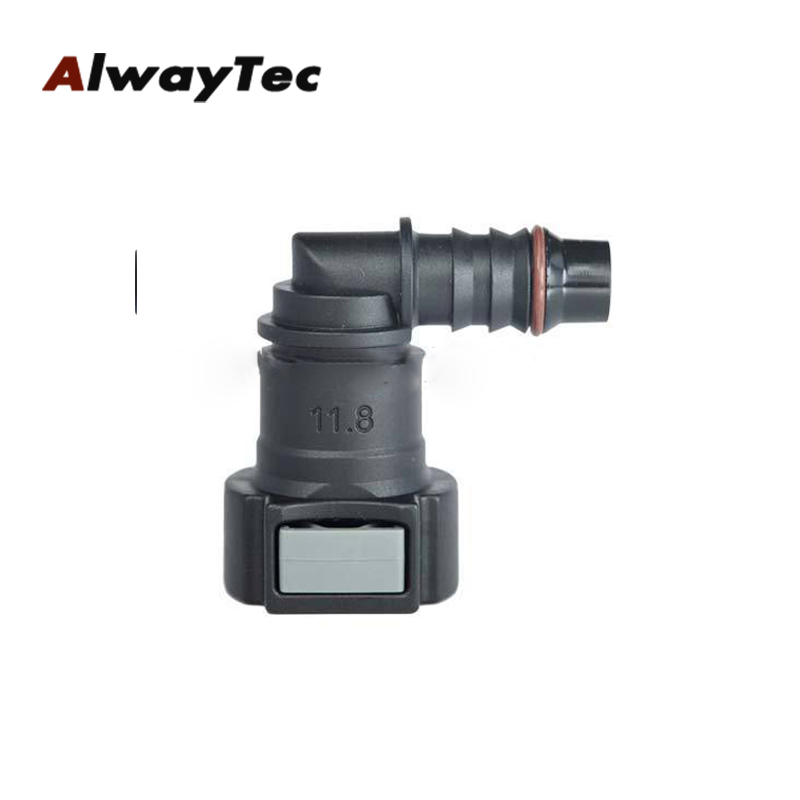 Hot sale sae 12 to 11.8mm nylon fuel quick compatible with auto connectors, renault quick auto connector