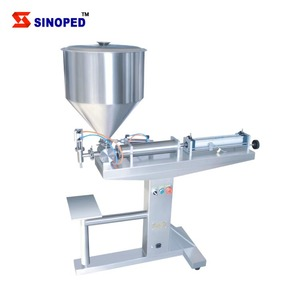 Stainless steel ground nuts butter filling machine peanut butter packing machine
