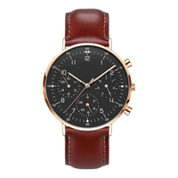 2019 High Quality Chronograph Japanese Polish Watch for Men with Your Own Logo